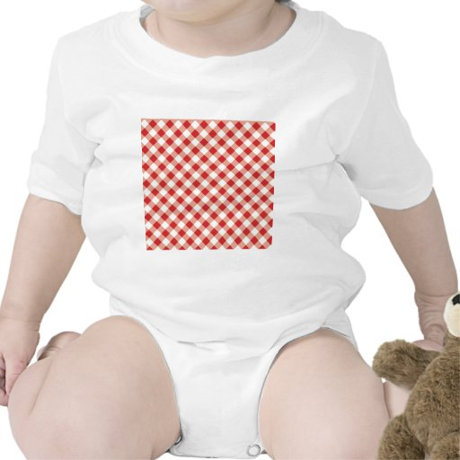 Red Gingham T Shirts