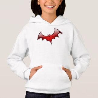 Red Glass Bat Hoodie