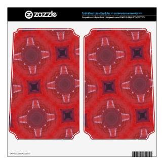 Red glass pattern turtle beach x41 skins