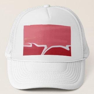 Red Glaze Trucker Hat
