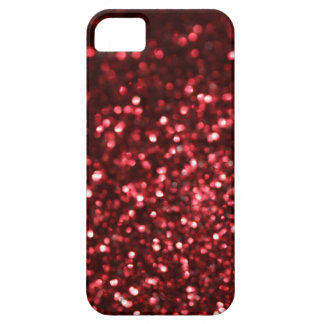 Red Glimmer iPhone 5 Covers