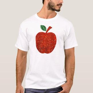 Red Glitter Apple T-Shirt