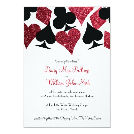 Red Wedding Invitations Announcements – Pink and Red Wedding Invitations