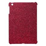 Red Glitter iPad Mini Cover