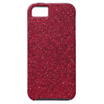Red Glitter iPhone 5 Cover