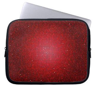 Red Glitter Sequin Disco Glitz Protective Case