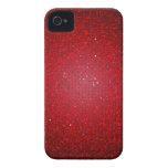 Red Glitter Sequin iPhone 4 Mate Tough™ Case iPhone 4 Case-Mate Case