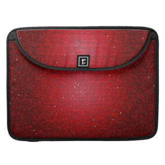 Red Glitter Sequin MacBook Sleeve Computer Case Sleeves For MacBook Pro