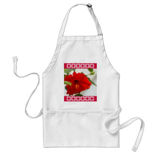 Red Glory Adult Apron