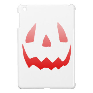 Red Glow Happy Halloween Face Case For The iPad Mini