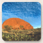 Red Glow of the Famous Ayers Rock in the Outback Coaster