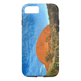 Red Glow of the Famous Ayers Rock in the Outback iPhone 7 Case