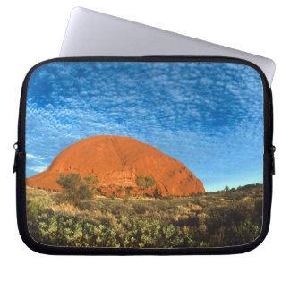 Red Glow of the Famous Ayers Rock in the Outback Laptop Computer Sleeve
