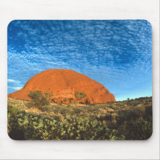Red Glow of the Famous Ayers Rock in the Outback Mouse Pad