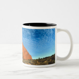 Red Glow of the Famous Ayers Rock in the Outback Coffee Mug