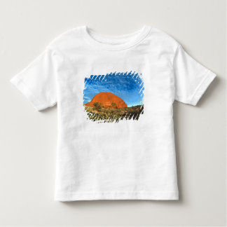 Red Glow of the Famous Ayers Rock in the Outback Toddler T-shirt