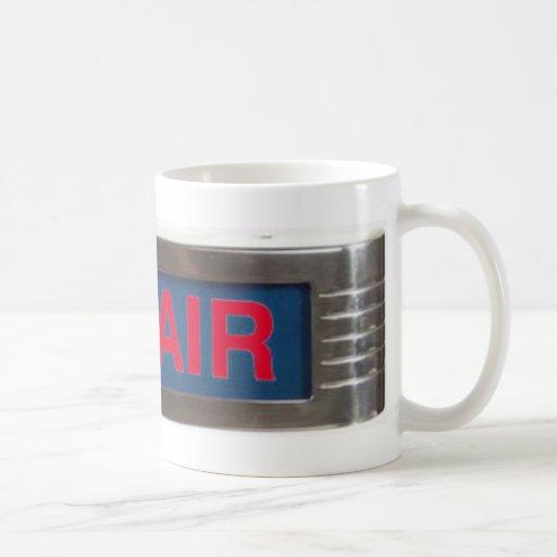 Red Glow On-Air Light Coffee Mug