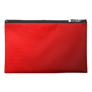 Red Glow Travel Accessory Bags