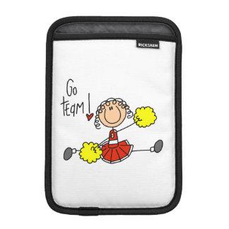 Red Go Team Cheerleader Sleeve For iPad Mini
