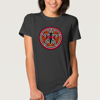 Red Goddess Pentacle Shirts