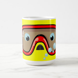Red Goggles Coffee Mug