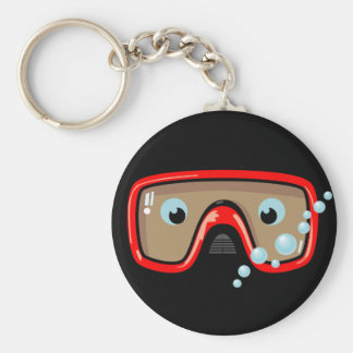 Red Goggles Keychain