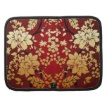 Red , Gold & Black Floral Oriental style Organizers