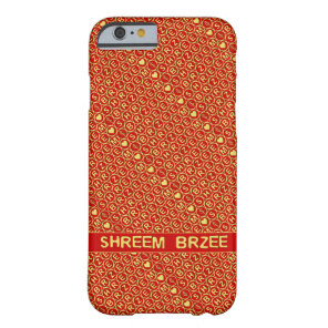 Red Gold Chant Shreem Brzee attract wealth Barely There iPhone 6 Case