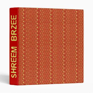 Red Gold Chant Shreem Brzee attract wealth Binder