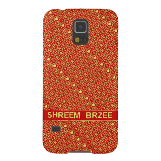 Red Gold Chant Shreem Brzee attract wealth Galaxy S5 Cover