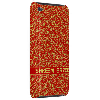 Red Gold Chant Shreem Brzee attract wealth iPod Case-Mate Case