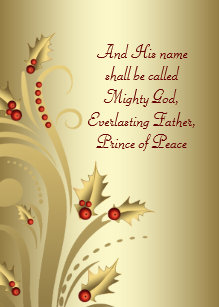 Religious christmas cards greeting photo cards zazzle red gold christian christmas cards m4hsunfo