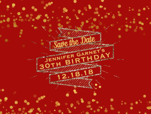 hollywood glam save the date gifts on zazzle