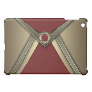 Red & Gold Elegant Designer  Cover For The iPad Mini
