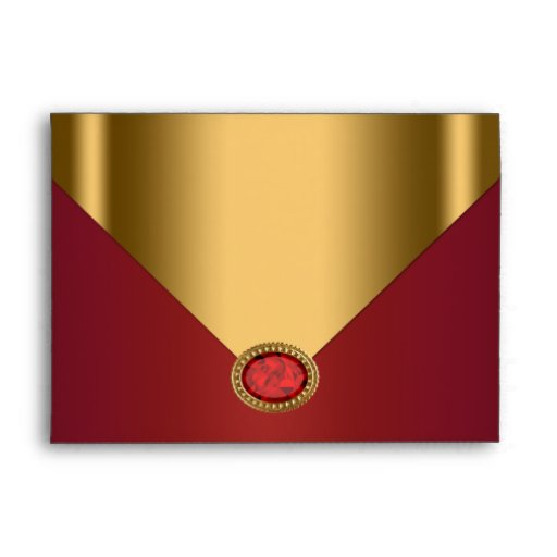 Red Gold  Envelope