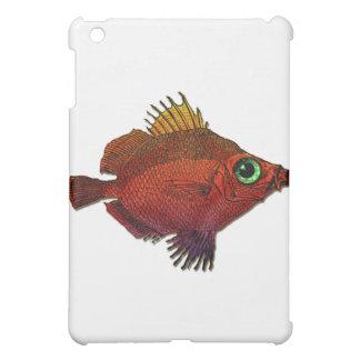 Red Gold Fantasy Discus Fish iPad Mini Covers