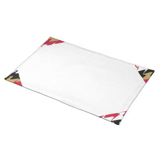 Red & Gold San Francisco Football Home Casino Cloth Place Mat