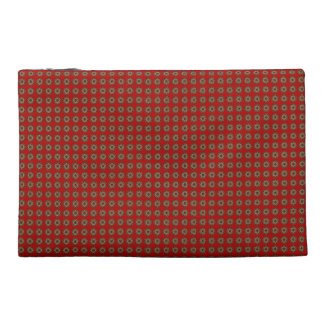 Red-Gold-Sanskrit-Maṇḍala-Designer-Travel-Cosmetic Travel Accessory Bag