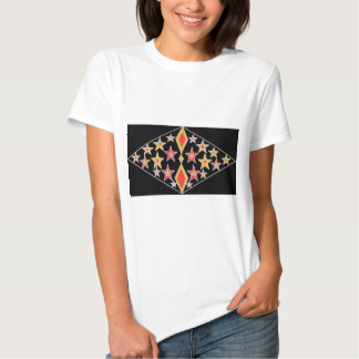 Red & Gold Stars T-Shirt