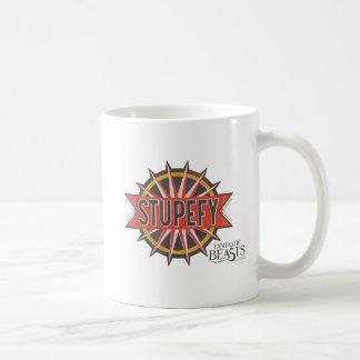 Red & Gold Stupefy Spell Graphic Coffee Mug