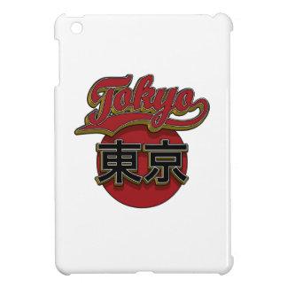 Red Gold Tokyo Retro iPad Mini Cases