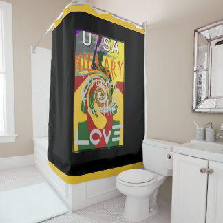 Red Golden Green Beautiful Amazing Rasta Colors Shower Curtain