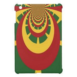 Red Golden Green Cool Jamaica Rasta Colors iPad Mini Case