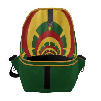 Red Golden Green Rasta Bag Courier Bag