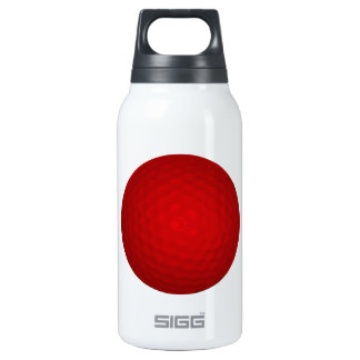 Red Golf Ball Thermos Water Bottle