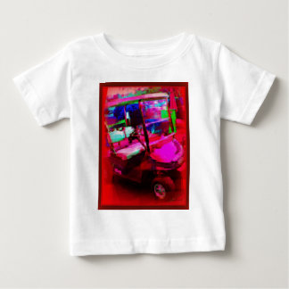 Red Golf Car Baby T-Shirt