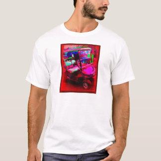 Red Golf Car T-Shirt