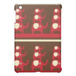 Red good luck elephants pern  iPad mini cases