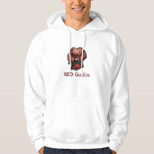 RED Gorilla Hoodie