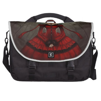 Red Gothic Commuter Bags